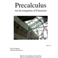 Precalculus: An Investigation of Functions (Includes Trig) 2nd Ed