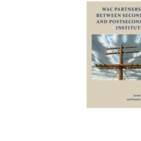 WAC Partnerships Between Secondary and Postsecondary Institutions