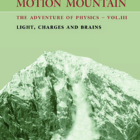 Motion Mountain: The Adventure of Physics: Light, Charges and Brains (Volume 3)