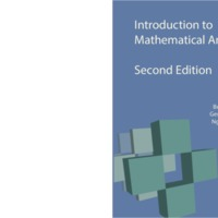 Introduction to Mathematical Analysis I