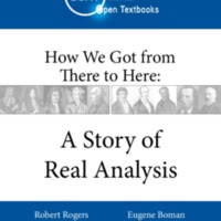 A Story of Real Analysis