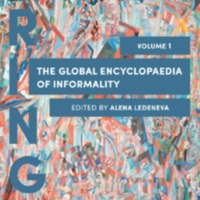 The Global Encyclopaedia of Informality Volume I