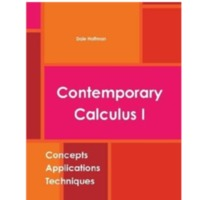 Contemporary Calculus I . For the students