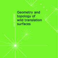 Geometry and topology of wild translation surfaces
