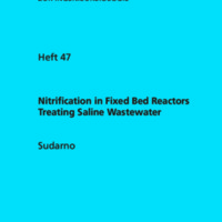 Nitrification in Fixed Bed Reactors Treating Saline Wastewater